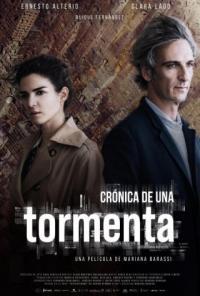 Poster Crónica de Una Tormenta
