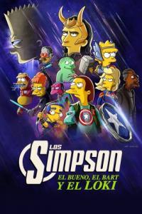 Poster Los Simpson: El bueno, el Bart y el Loki