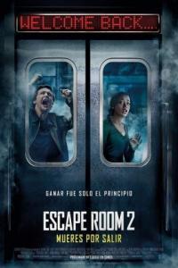 Poster Escape Room 2: mueres por salir