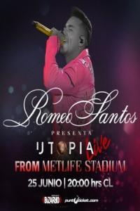 Poster Romeo Santos: Utopia Live from MetLife Stadium