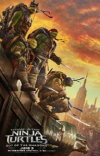 Poster Tortugas Ninja 2
