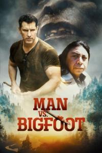 Poster Man vs. Bigfoot