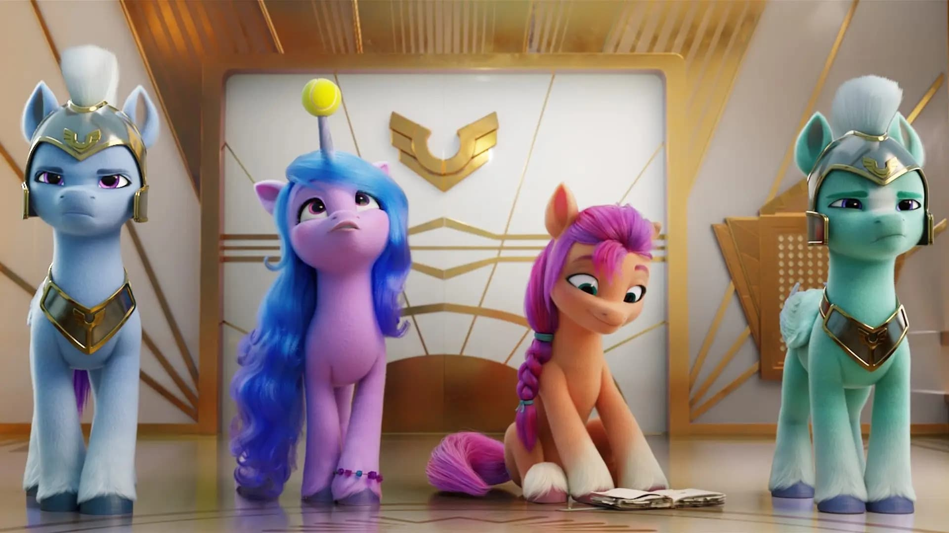 Película My Little Pony: Una nueva generación en GNULA