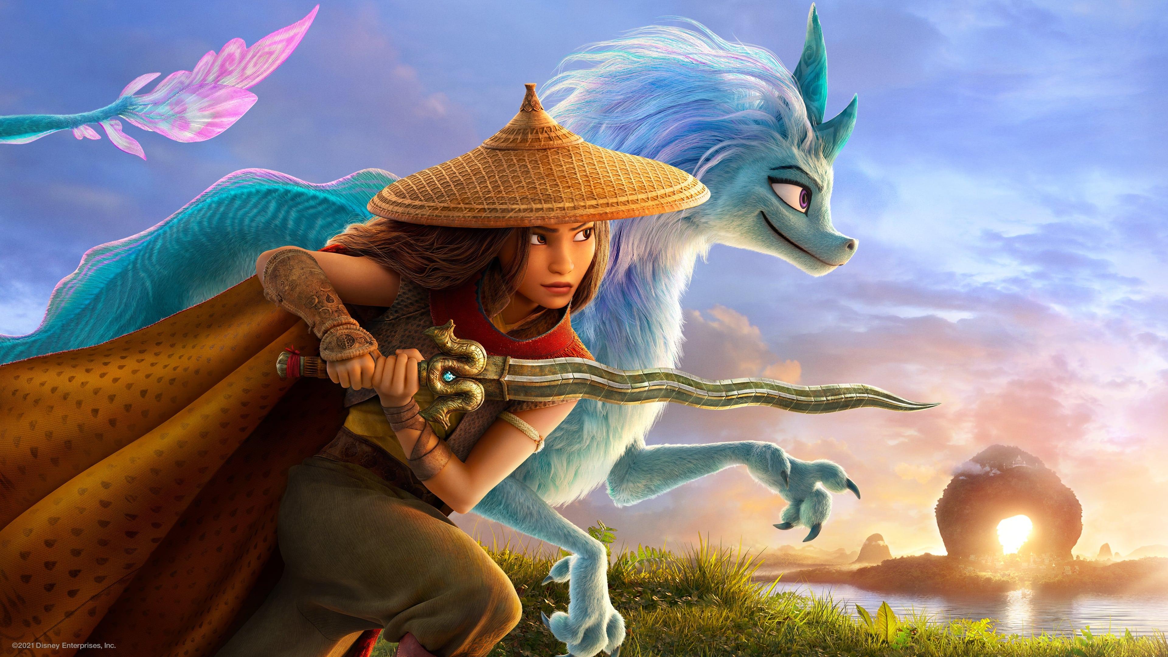 Película Raya y el último dragón en GNULA