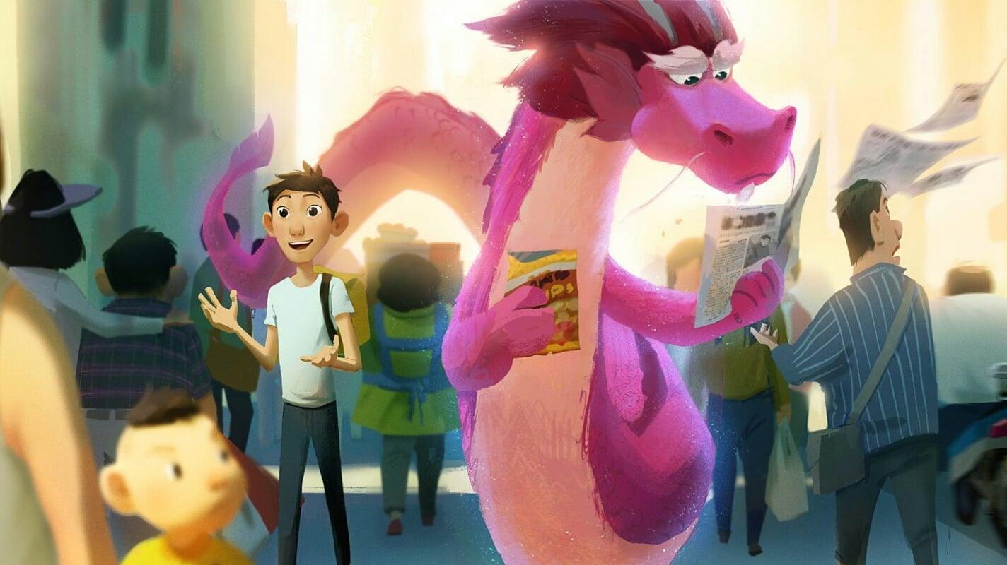 Película El dragón de los deseos en GNULA