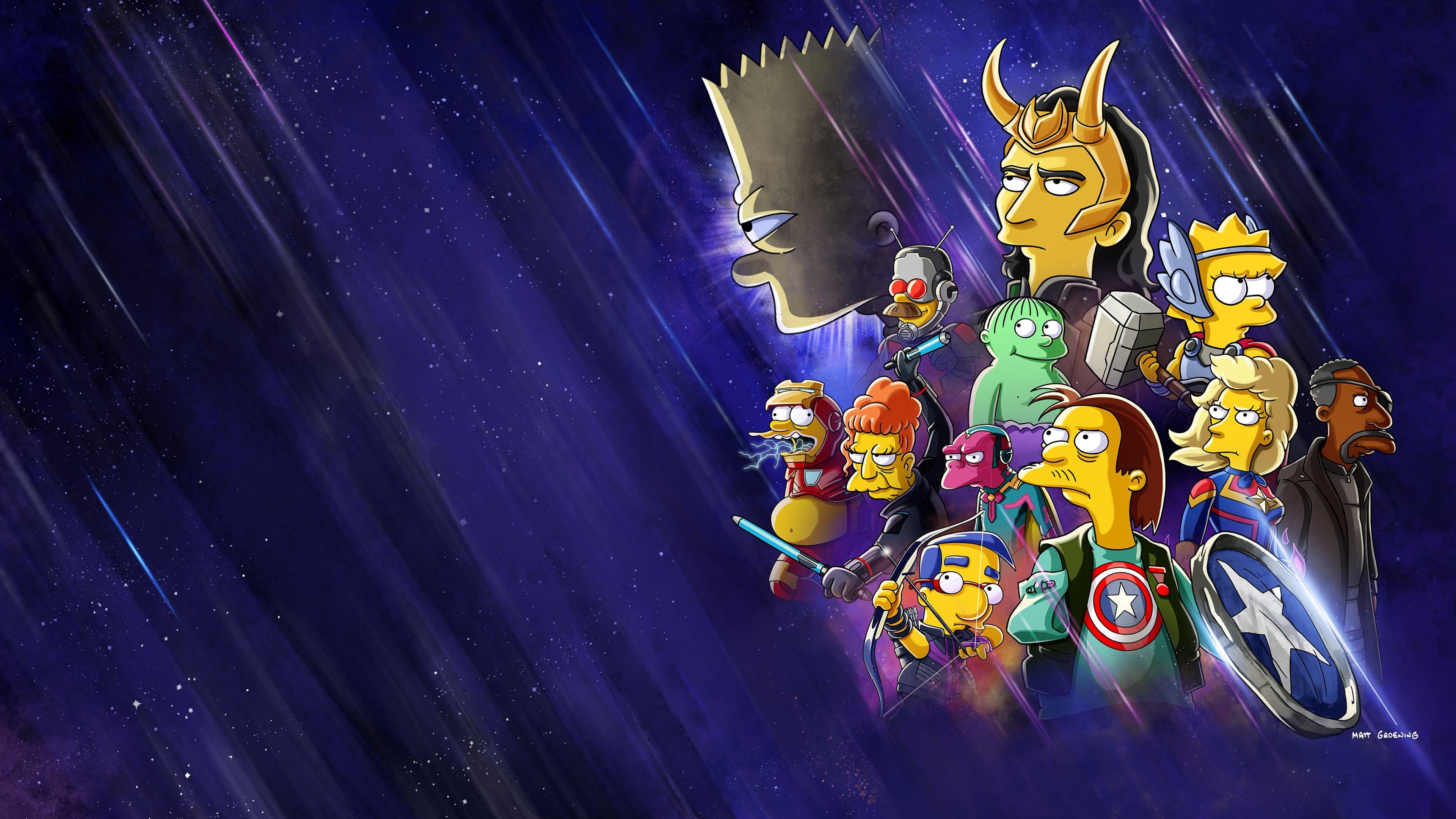 Película Los Simpson: El bueno, el Bart y el Loki en GNULA