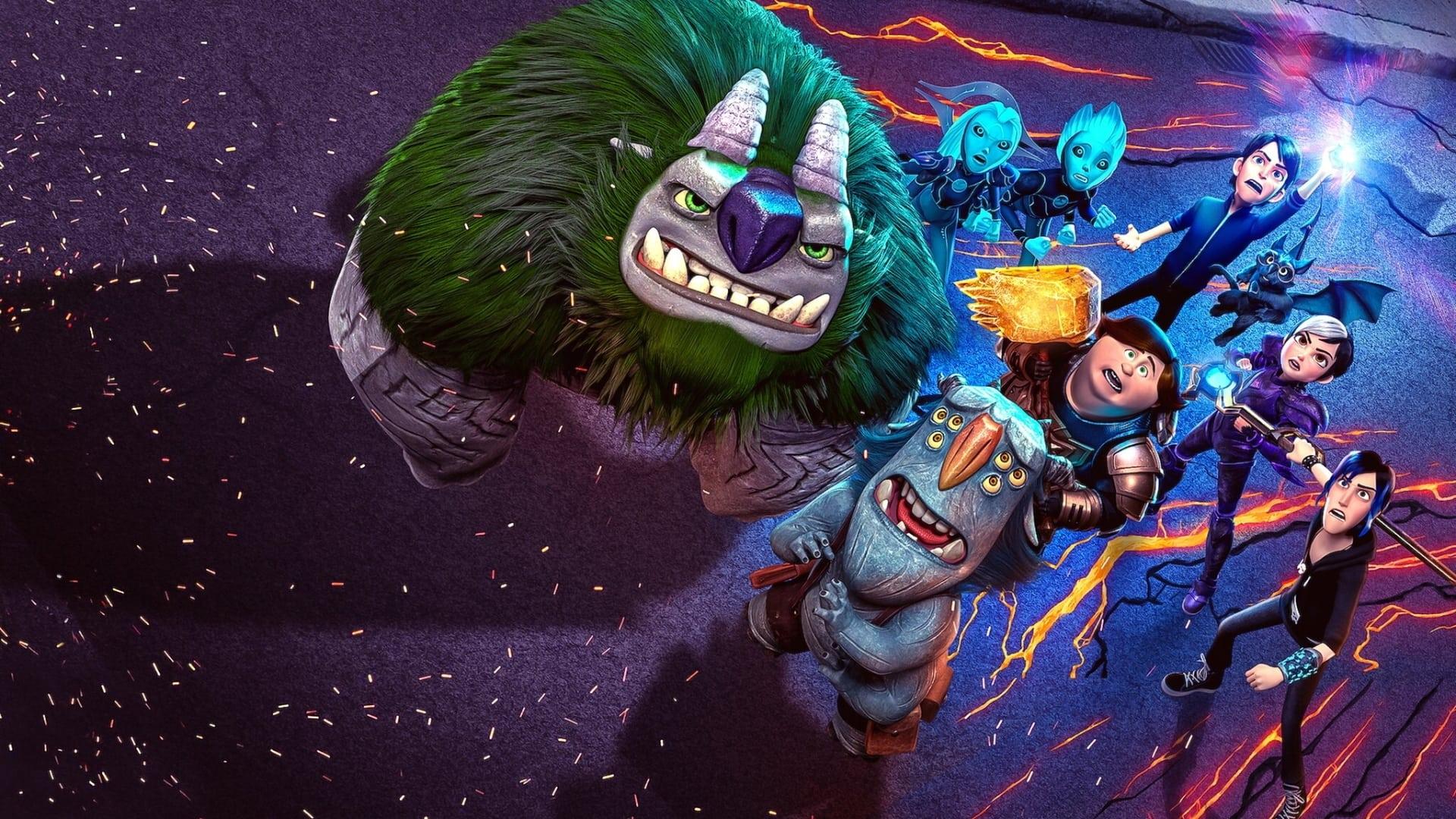 Película Trollhunters: El despertar de los titanes en GNULA