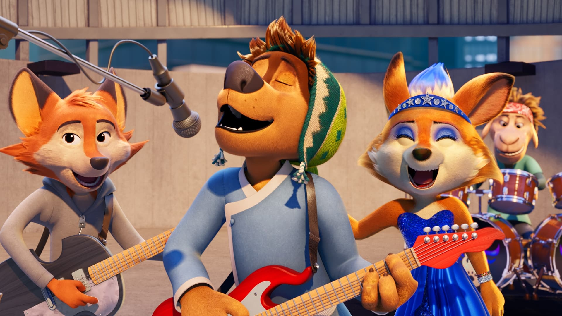 Película Rock Dog 2: Rock Around the Park en GNULA
